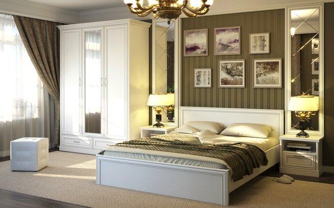 Комплект спальни Тэйлор с 3-дверным шкафом фото