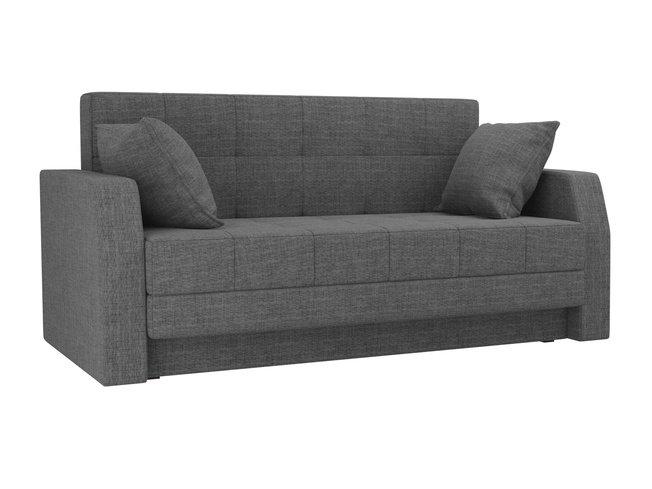 Диван-кровать Малютка, серый/рогожка фото