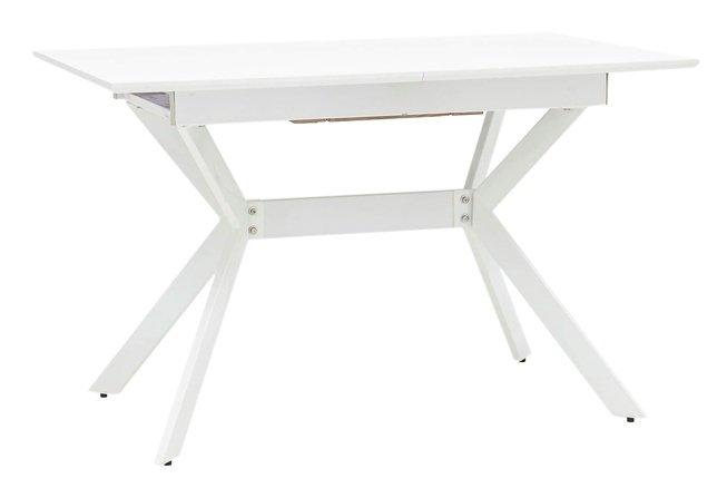 Стол обеденный раздвижной Орландо 1200, белый фото
