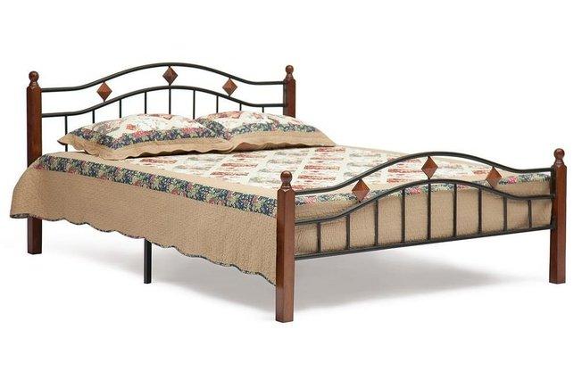 Кровать металлическая AT-126 160x200см фото