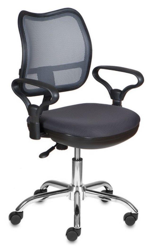 Кресло офисное CH-799SL, темно-серая ткань/сетка фото