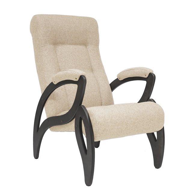 Кресло для отдыха Модель 51, бежевая рогожка фото