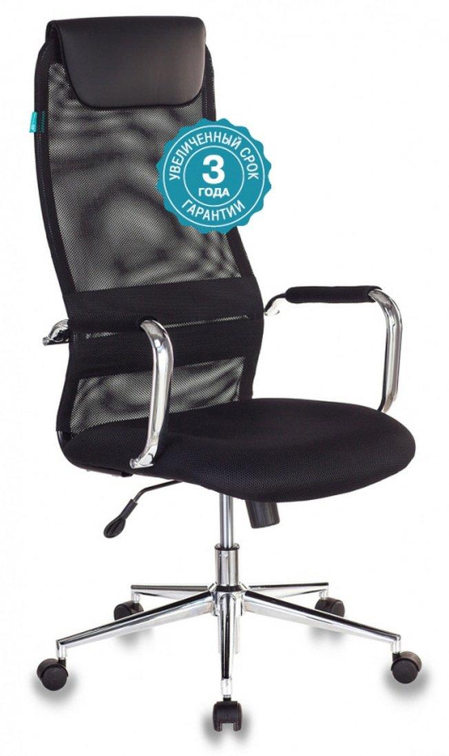 Кресло руководителя KB-9N, черная сетка фото