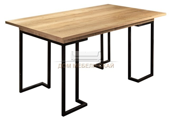 Стол раскладной обеденный Loft 160, дуб натур - купить за 15300 руб. в Москве (арт. B10012711)   Дом мебели Скай