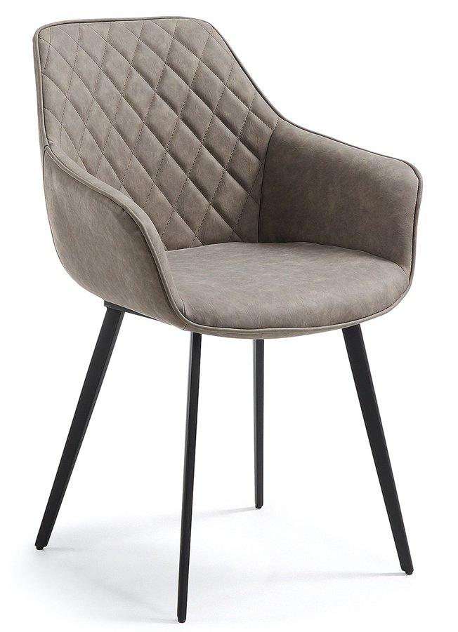 Стул-кресло Aminy, светлое фото