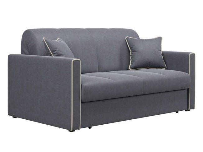 Диван-кровать Римини 1600, серый velutto 32 фото