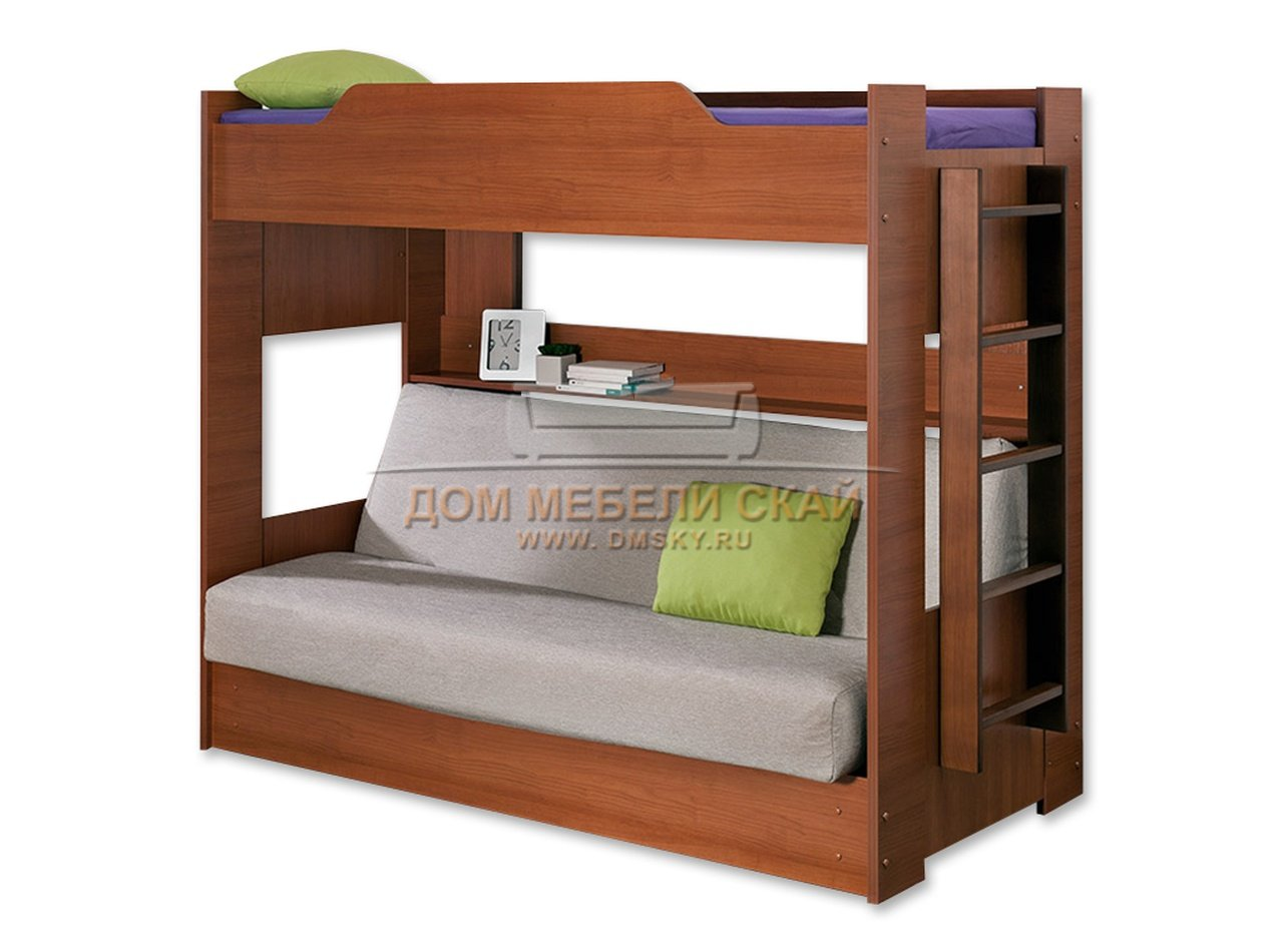 Купить Двухъярусную Кровать С Диваном Москва
