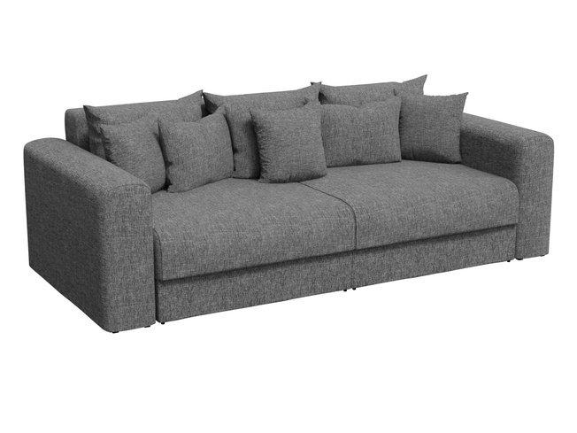 Диван-кровать Мэдисон, серый/рогожка фото