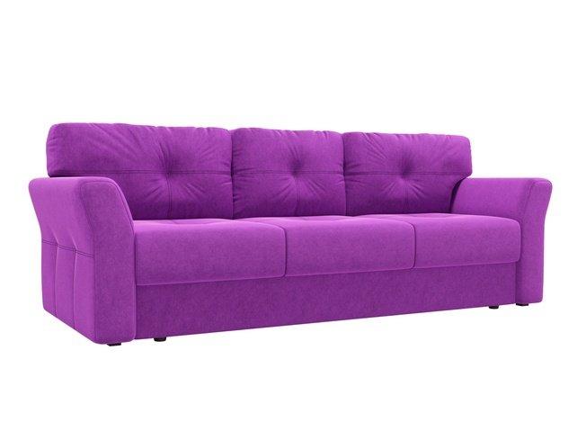 Диван-кровать Манхеттен, фиолетовый/микровельвет фото