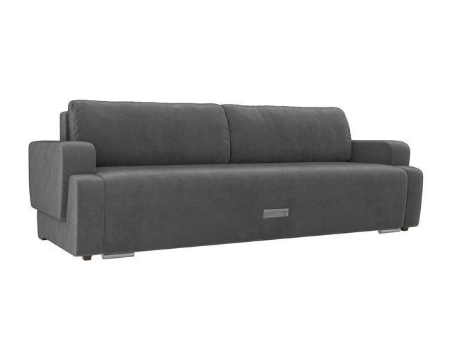 Диван-кровать Ника, серый/велюр фото