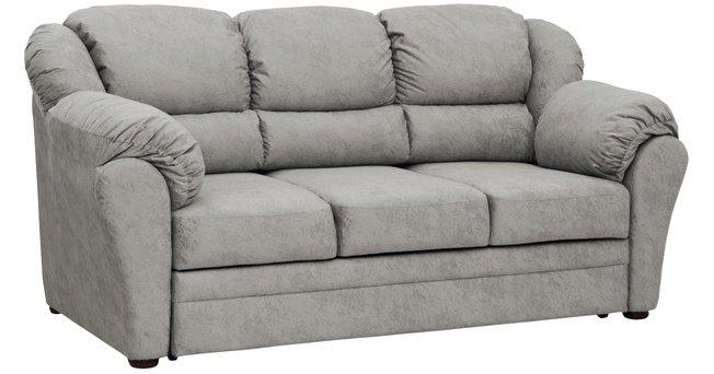 Диван-кровать Фламенко 2, серебристый серый 40517 фото