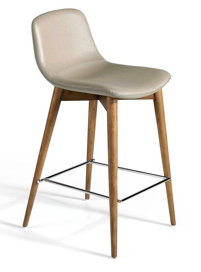 Барный стул CS788-TAB, серо-бежевый фото