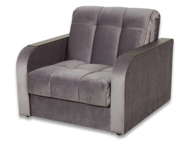 Кресло-кровать Амиго, серое фото