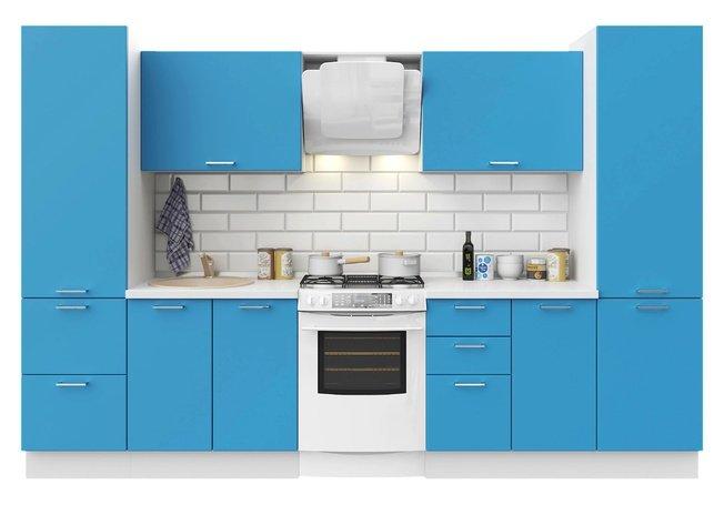 Кухня Модерн 3200, индиго матовый фото