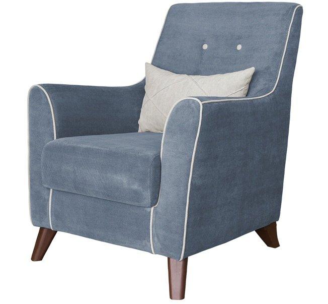 Кресло для отдыха Френсис, серо-голубое ТК 513 фото