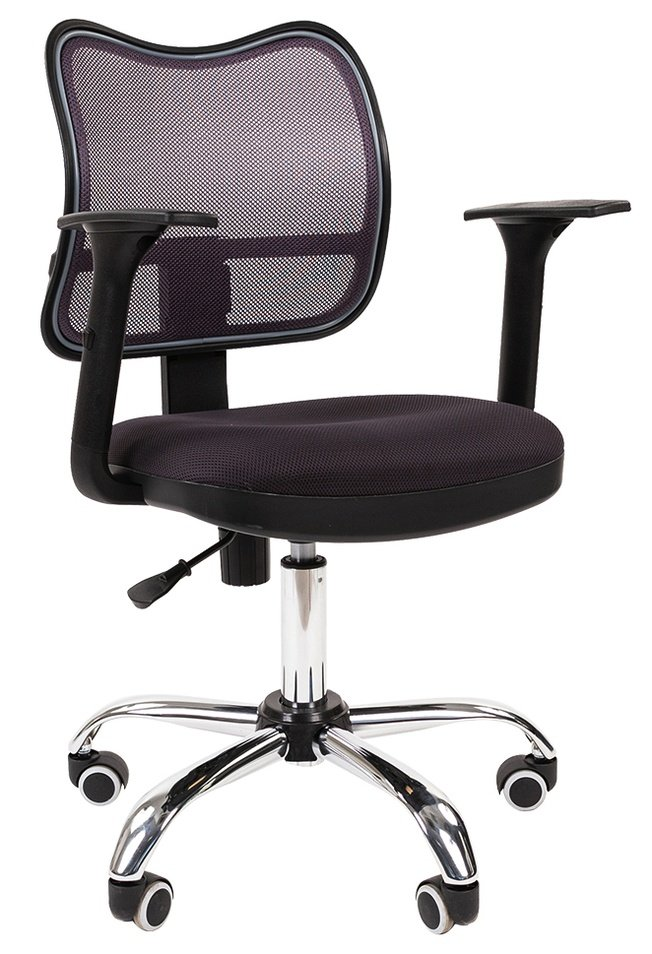 Офисное кресло Chairman 450 хром, СТ TW-12/TW-04 серый N фото