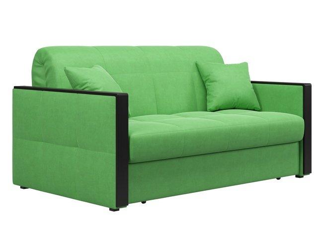 Диван-кровать Лион 1600, зеленый velutto 31 фото