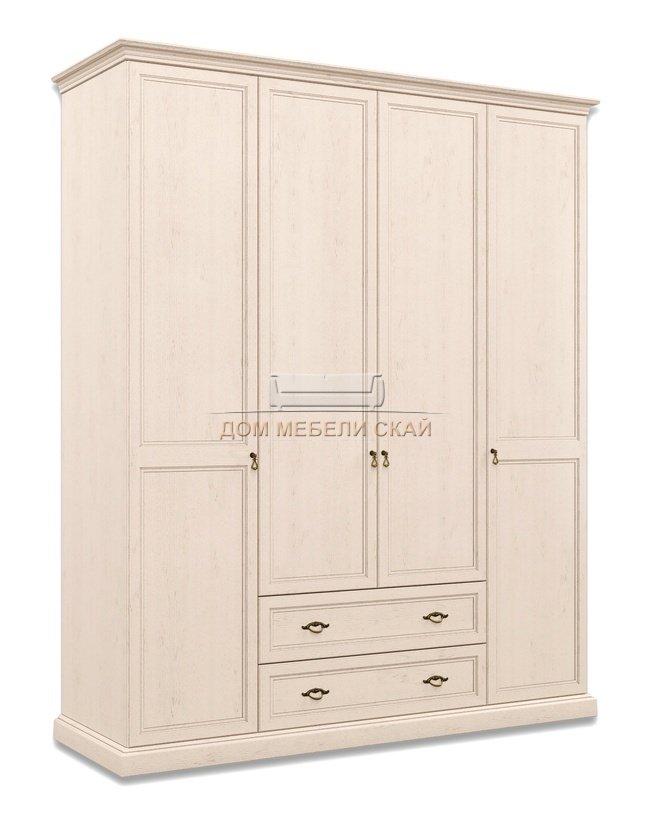 Шкаф Венеция 4-дверный без зеркала с ящиками ВНШ2/41, дуб седан - купить за 48000 руб. в Москве (арт. B10002216)   Дом мебели Скай
