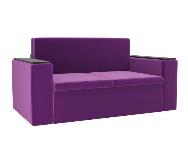 Детский диван Арси, фиолетовый/микровельвет фото