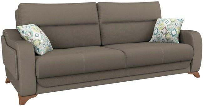 Диван-кровать Фрея, серо-коричневый ТД 192 фото