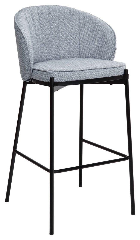 Барный стул WENDY, небесно-голубой/ткань фото